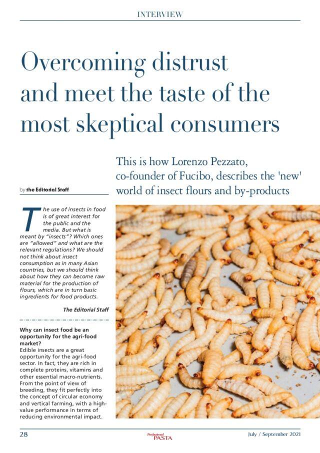 Professional pasta Fucibo interview